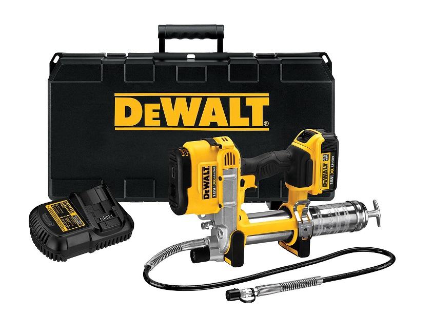 DeWalt DCGG571M1-QW Pistola engrasadora, pistolas de engrase dewalt, pistolas para engrasar dewalt, bombas de engrase dewalt, engrasadores dewalt, pistola engrasadora